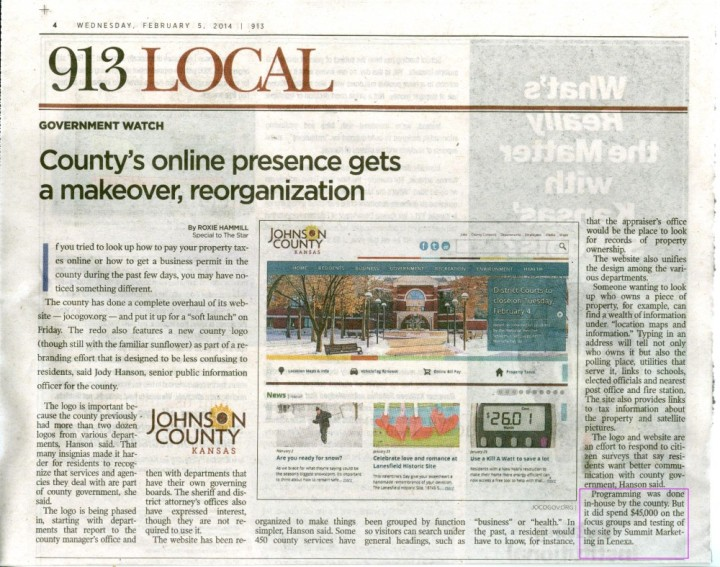JoCo Gov KC Star article 001